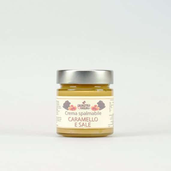 Crema spalmabile al caramello e sale