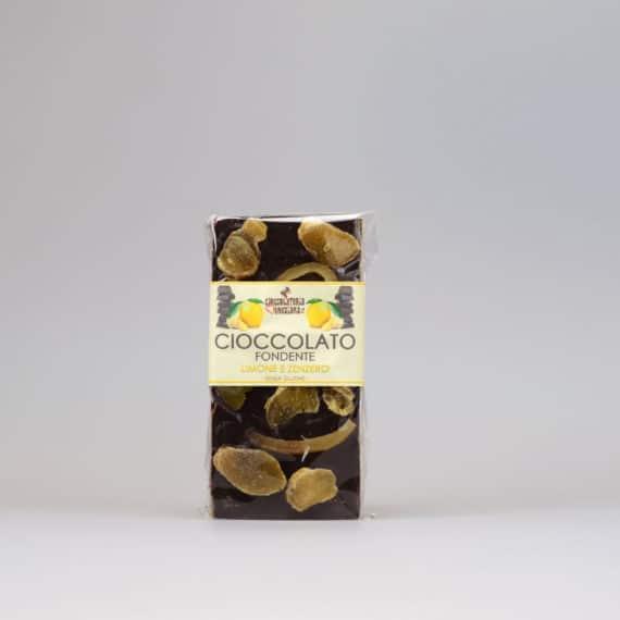 Cioccolato fondente limone e zenzero