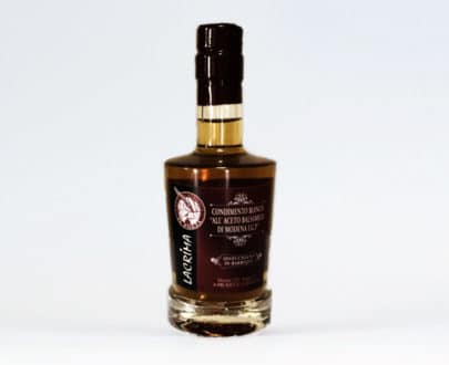 Lacrima I.G.P. – Condimento bianco all'Aceto Balsamico di Modena