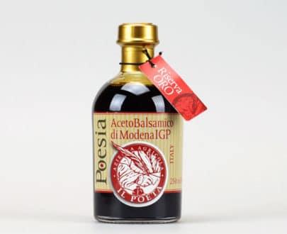 Poesia Riserva Oro – Aceto Balsamico di Modena I.G.P.