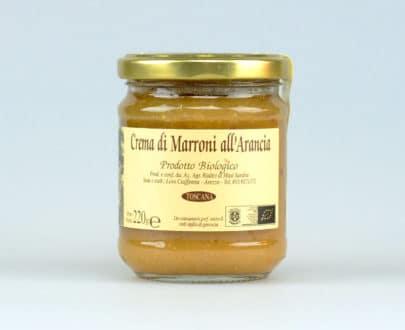 Crema di marroni all'arancia BIO