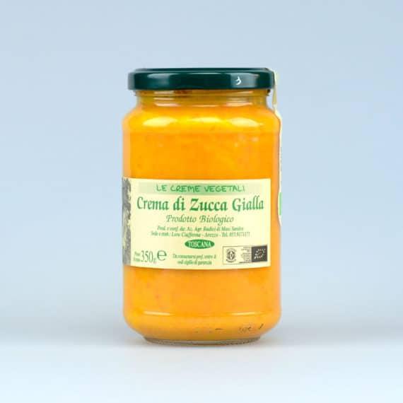 Crema di zucca gialla BIO