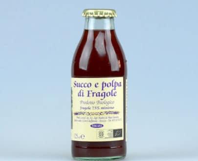 Succo e polpa di fragole BIO