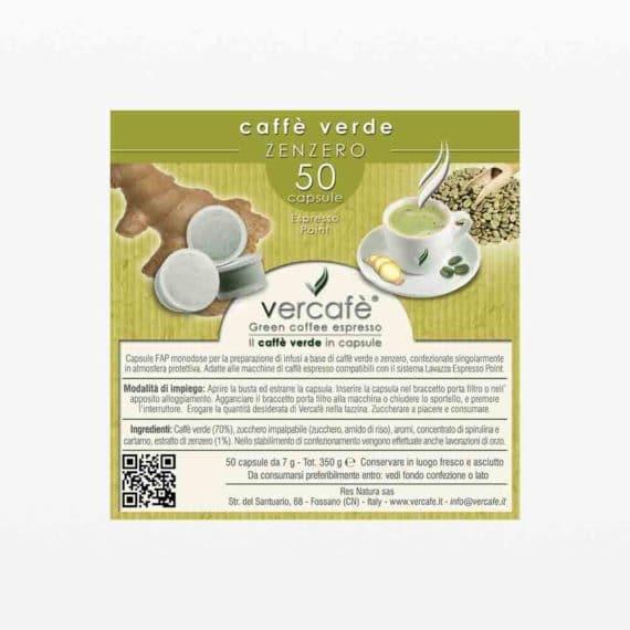 Vercafè Zenzero – Capsule FAP