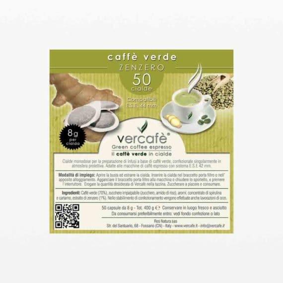 Vercafè Zenzero – Cialde ESE