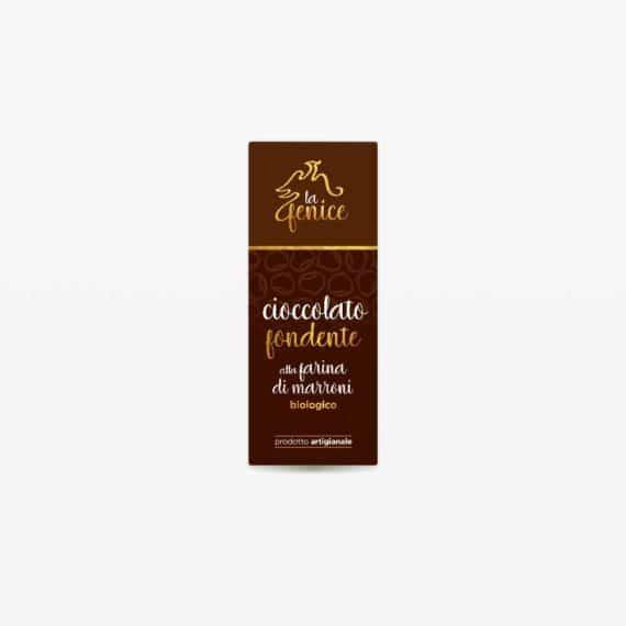 Cioccolato fondente alla farina di marroni BIO