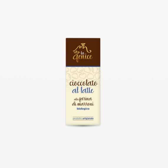 Cioccolato al latte alla farina di marroni BIO