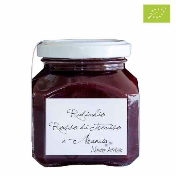 Composta dolce al radicchio rosso di Treviso e arancia BIO