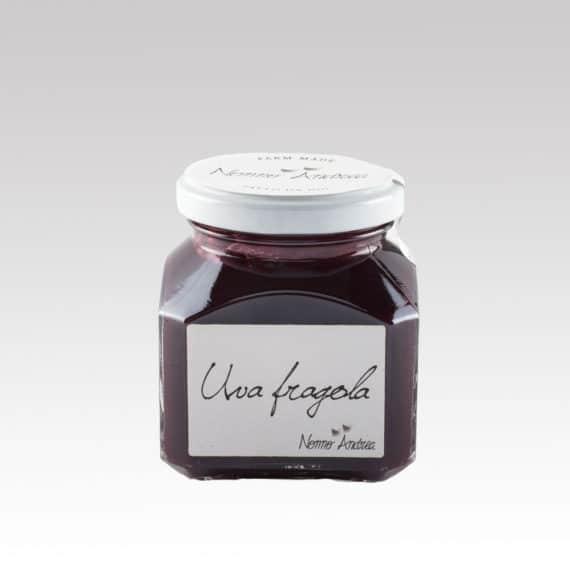Composta dolce all'uva fragola BIO