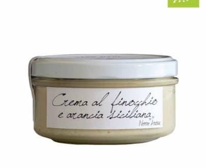 Crema al finocchio e arancia siciliana BIO