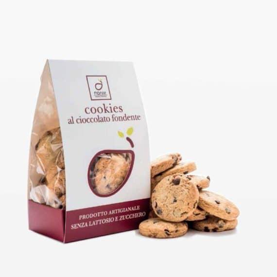 Cookies al cioccolato fondente senza lattosio