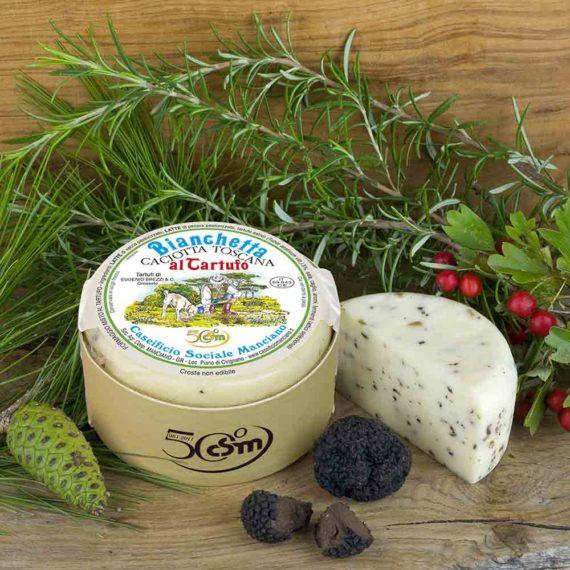 Bianchetta – Caciotta toscana al tartufo