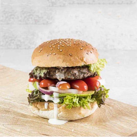 Grifburger di cinghiale