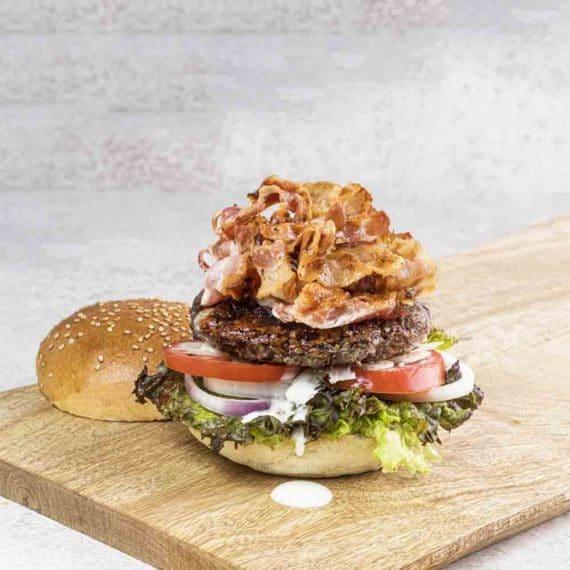 Hamburger di bufalo