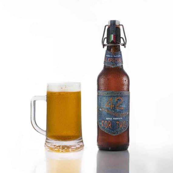 Birra ambrata al tartufo