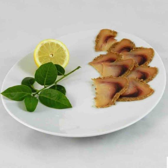 Pesce spada in crosta di mandorle e nocciole
