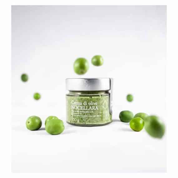 Crema di olive Nocellara