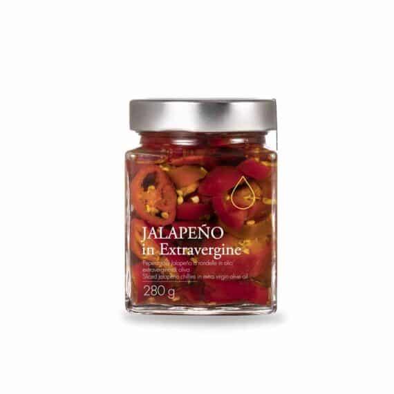 Peperoncini Jalapeño in olio extravergine di oliva