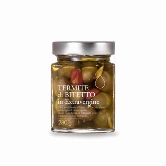 Olive verdi Termite di Bitetto in extravergine