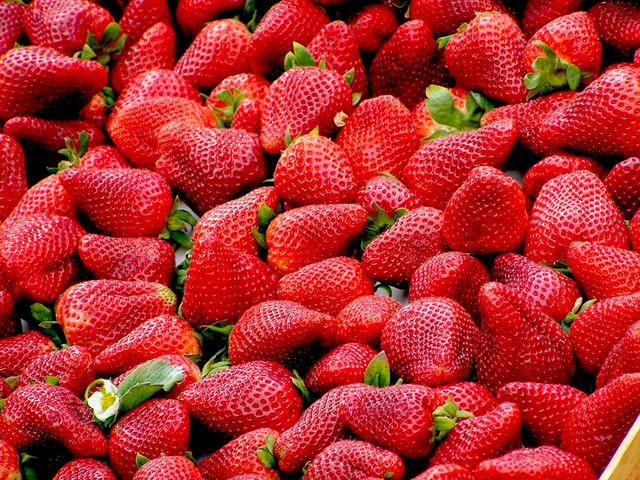 Rosso fragola: le varietà