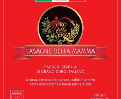 Lasagne della mamma di grano duro italiano