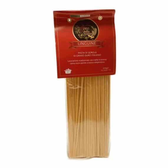 Linguine di grano duro italiano