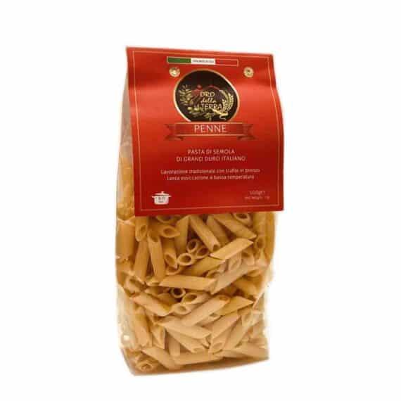 Penne rigate di grano duro italiano