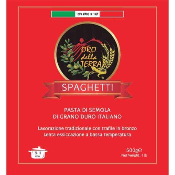 Spaghetti di grano duro italiano
