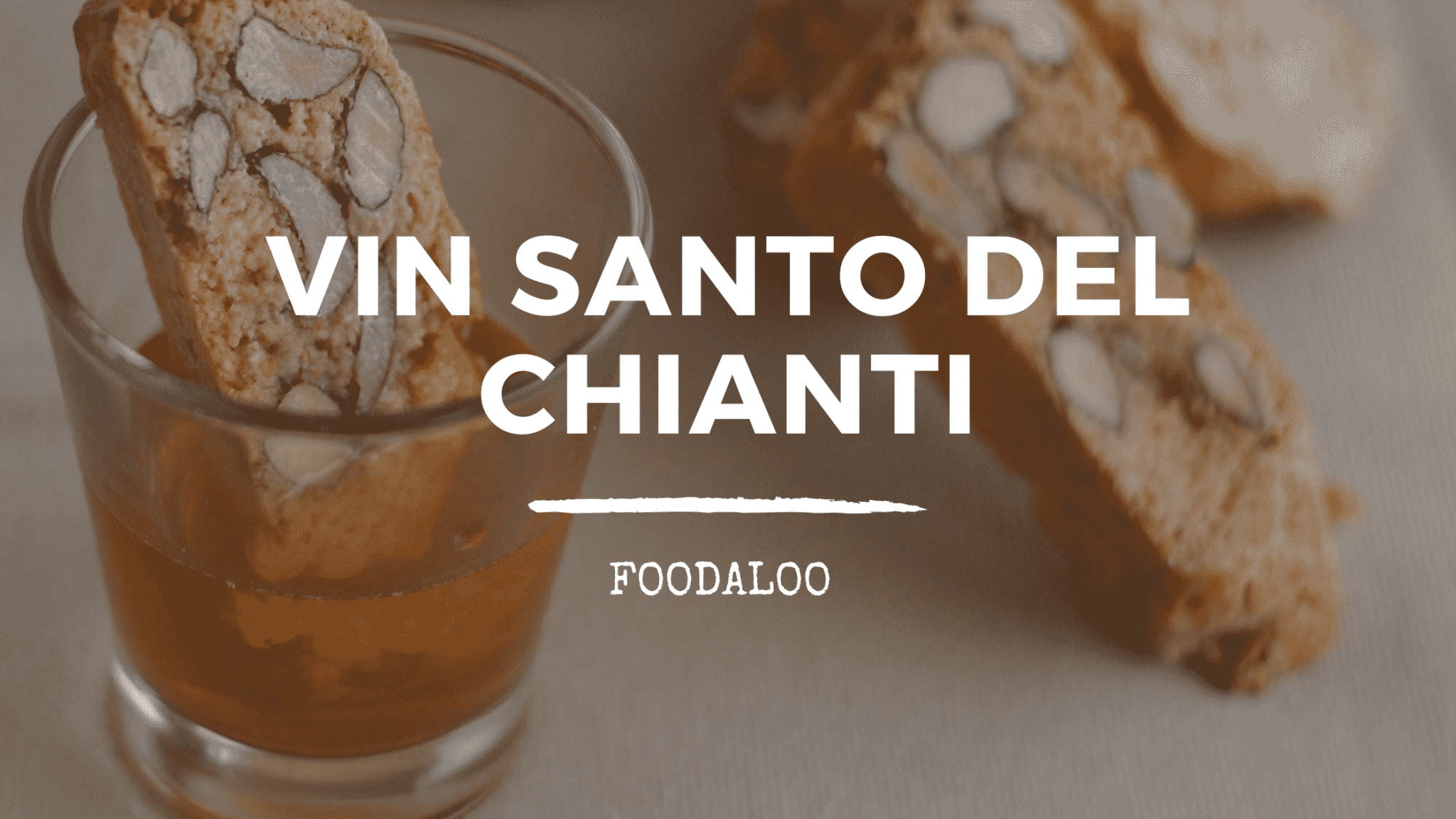 Storia Del Vin Santo Del Chianti D.O.C.