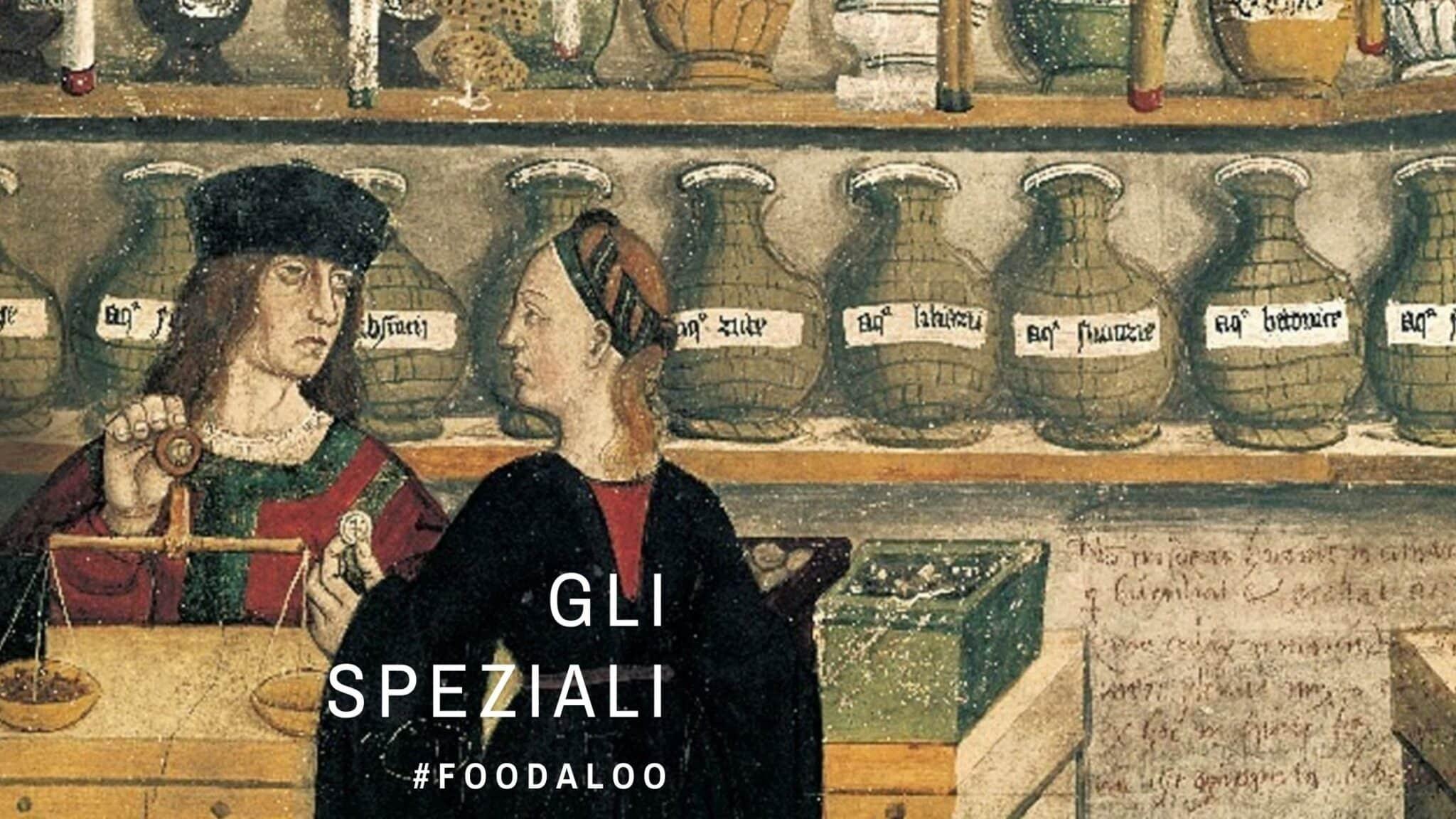 Droghieri medioevali, storia e curiosità dei venditori di spezie dell'antichità