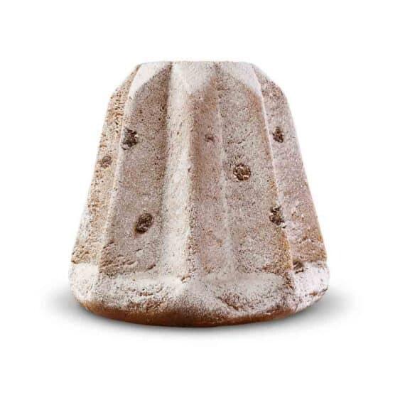 Pandoro con gocce di cioccolato fondente