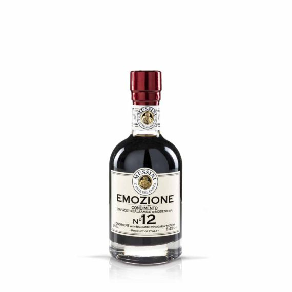 Emozione n. 12 – Condimento nero denso con ABM I.G.P.