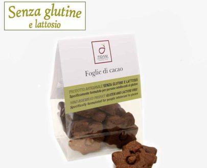 Foglie di cacao senza glutine e lattosio