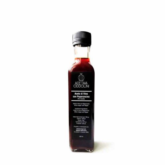 Aceto di vino al peperoncino