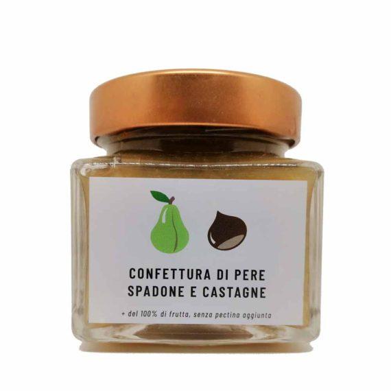Confettura extra di pere Spadone e castagne