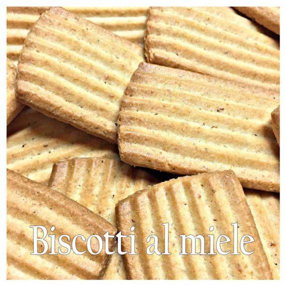 Biscotti al miele doc