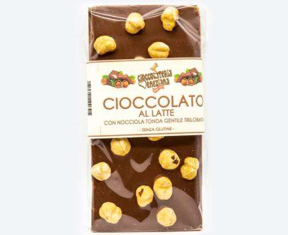 Cioccolato bianco con nocciola Tonda Gentile Trilobata