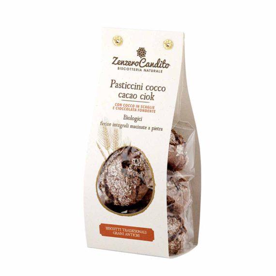 Pasticcini cocco, cacao ciok