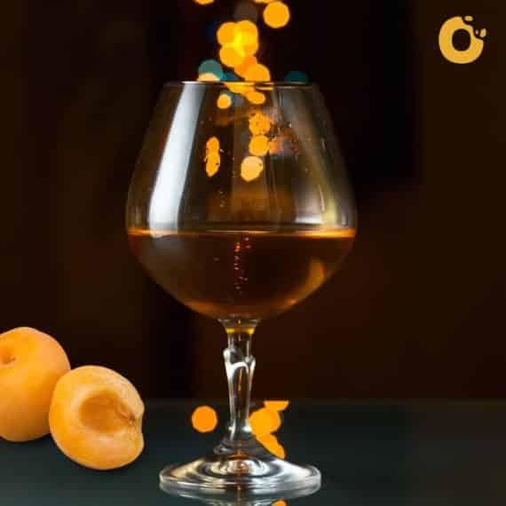 TortaPistocchi® Bianca Albicocche e Cognac
