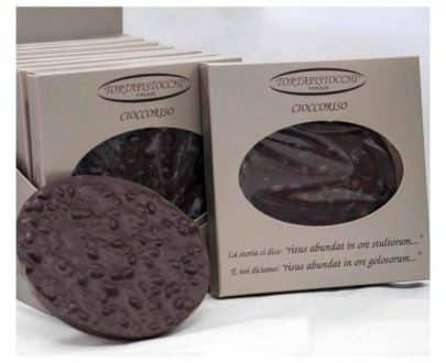 Cioccoriso al cioccolato fondente e riso soffiato