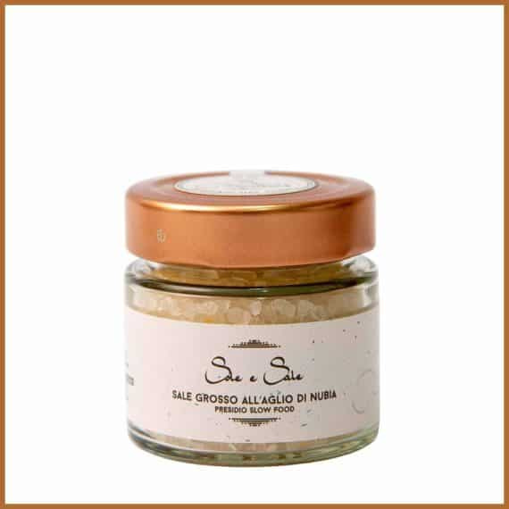 Sale grosso all'aglio di Nubia – Vasetto