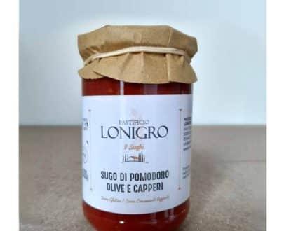 Sugo di pomodoro alle olive e capperi