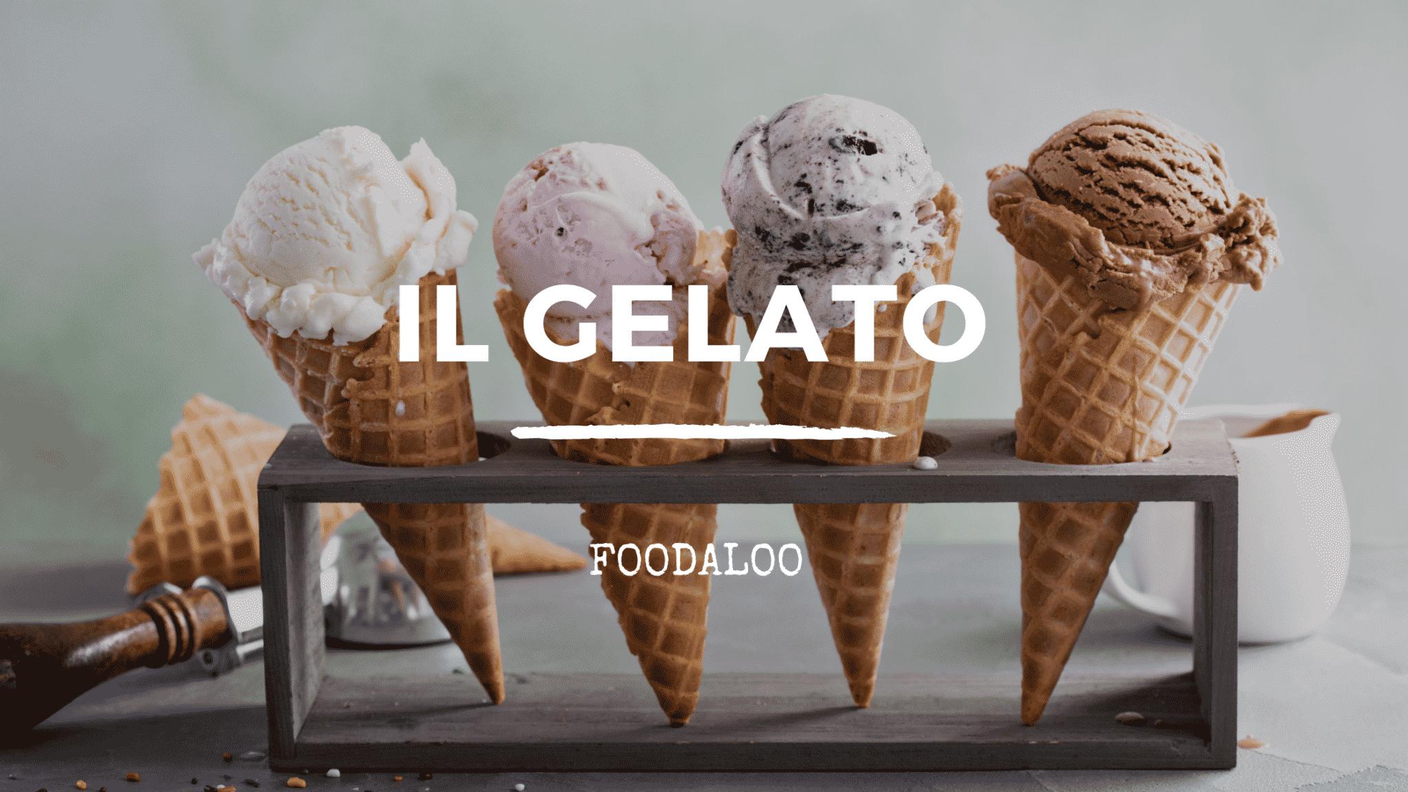 Origini e storia del nostro tanto amato gelato.