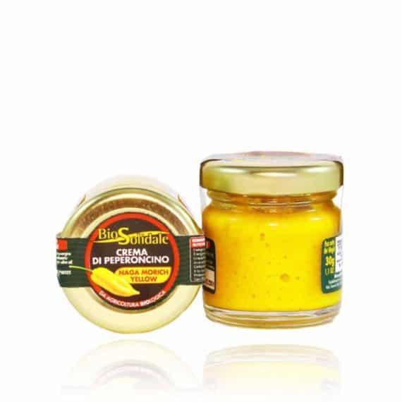 Crema di peperoncino Naga Morich Yellow BIO