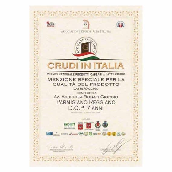 Parmigiano Reggiano D.O.P. Gran Riserva 7 anni