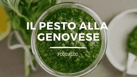 Storia del pesto alla genovese, caratteristiche e ricette.