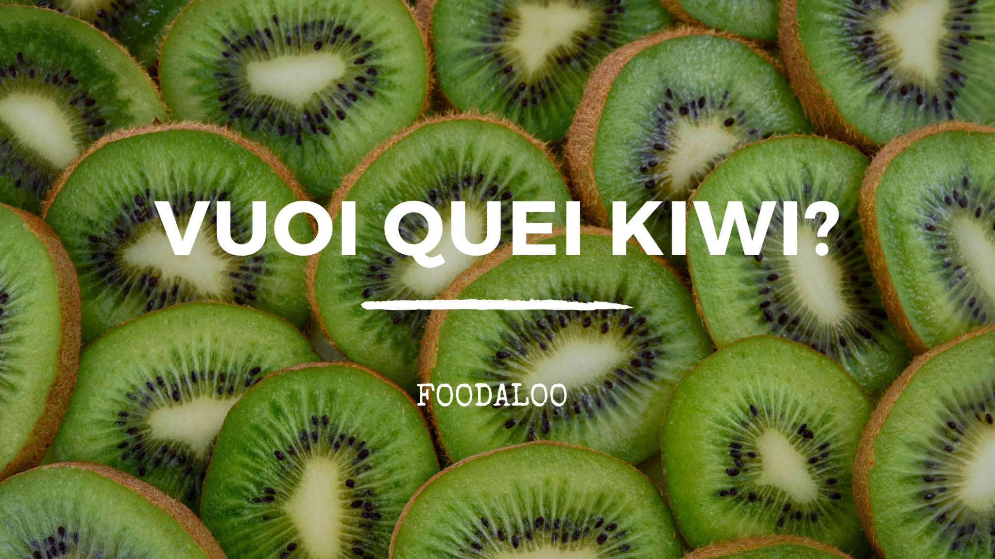Kiwi: proprietà, benefici e controindicazioni in cucina. Ricettario e spiegazione.