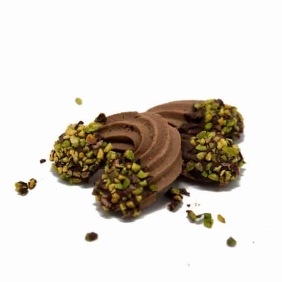 Frollino Otello cioccolato e pistacchio